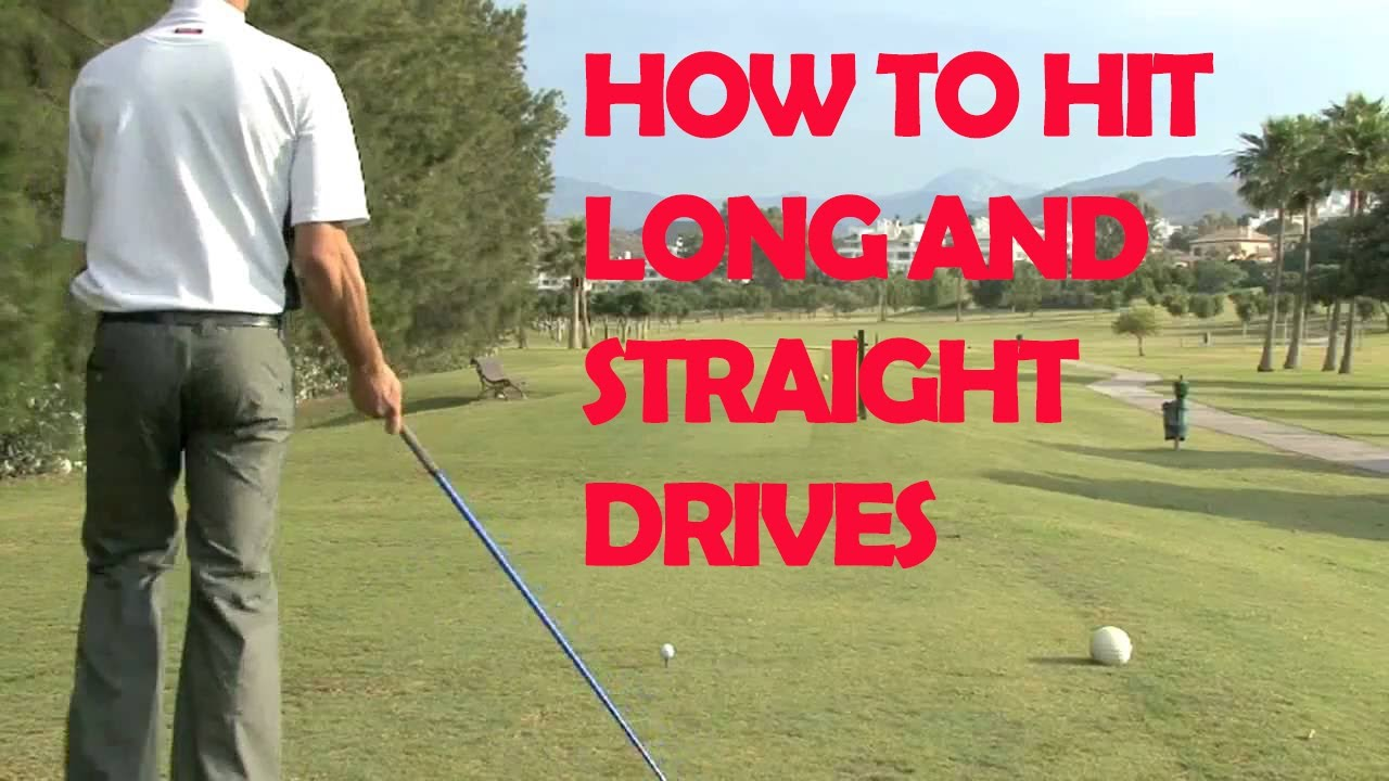straight hitting golf drills guide