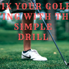 Fix Your Golf Swing with this Simple Drill